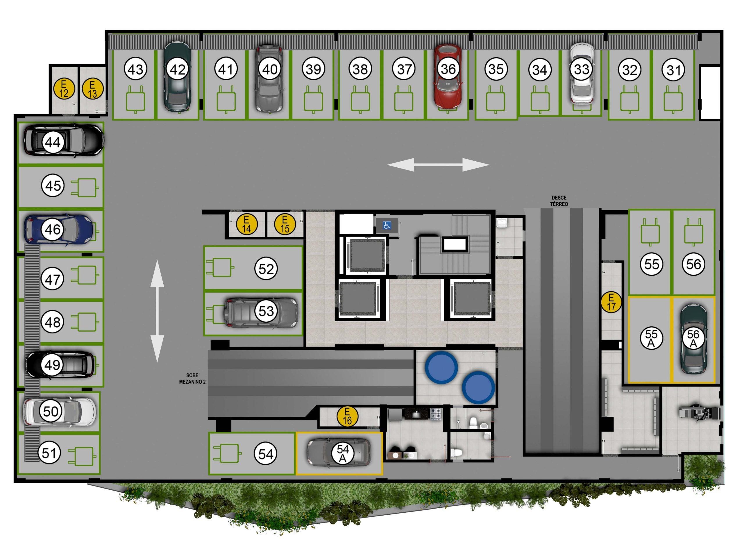 Pavimento garagem 1
